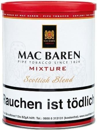 Mac Baren Mixture (Scottish Blend) Tabak 250g Dose (Pfeifentabak)