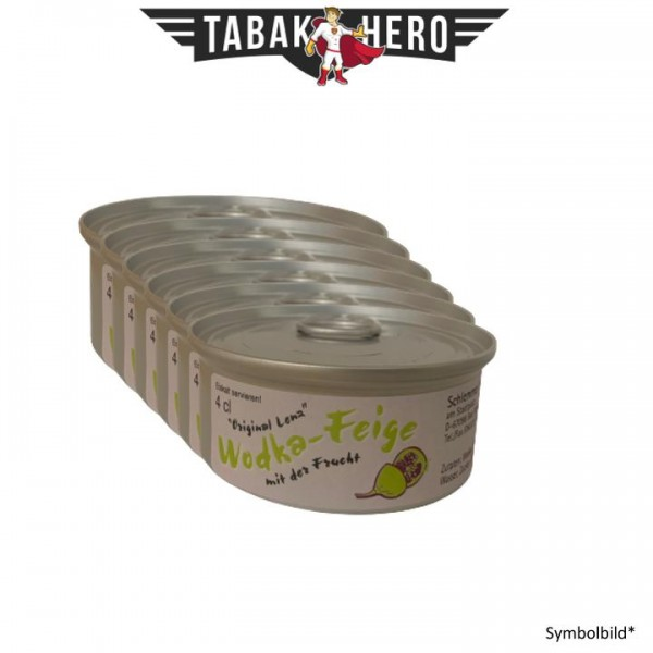 Wodka Feige - 50 x Schnaps in Dosen - Mega Party Box