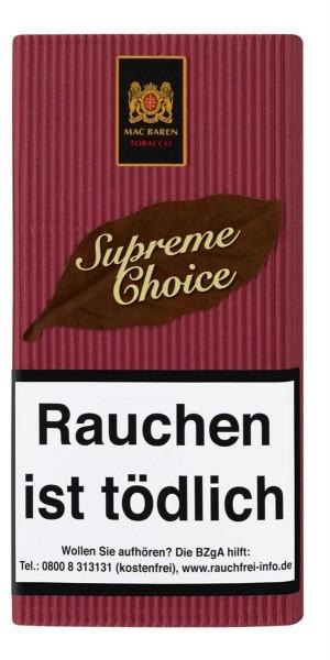 Mac Baren Supreme Choise Stopftabak / Pfeifentabak 40g Pouch