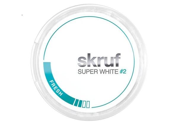 Skruf Super White Fresh No2 Kautabak 17g
