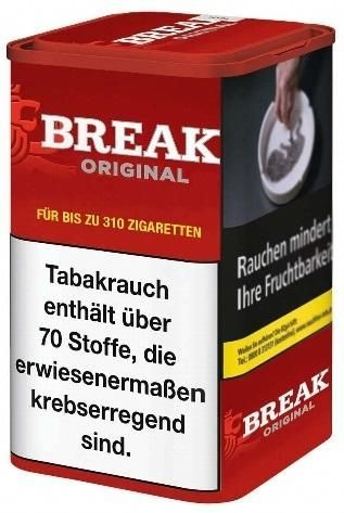 Break Original Tabak 120g Dose (Stopftabak / Volumentabak)
