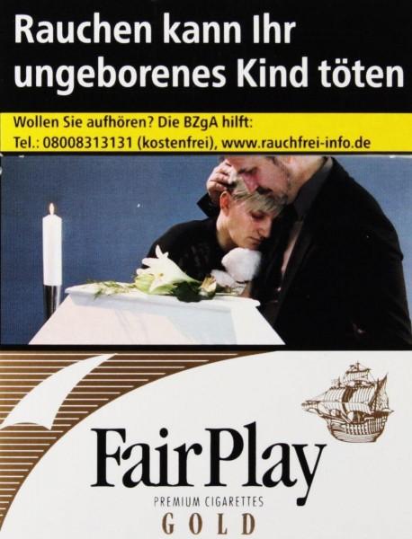 Fair Play Gold Big Zigaretten (22 Stück)