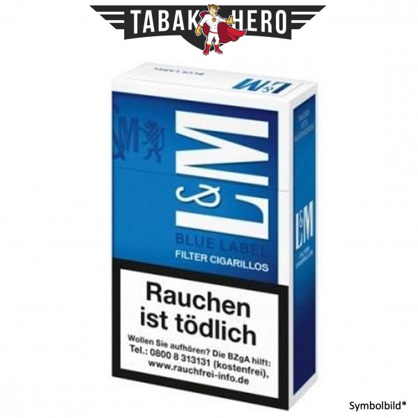 L&M Blue Filtercigarillo (17 Zigarillos)