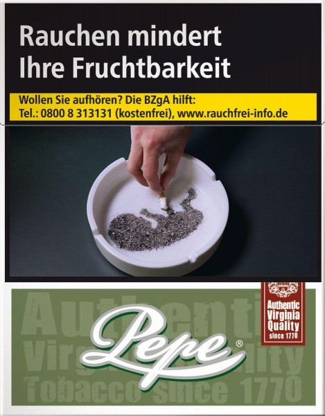 Pepe Rich Green Big (Stange / 8x24 Zigaretten)