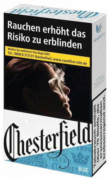 Chesterfield Blue Zigaretten (29 Stück)