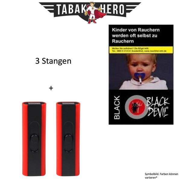 3x Black Devil (Stange / 10x20 Zigaretten) Black Friday Aktion