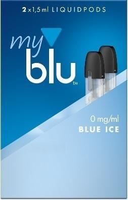 5 x 2 myblu Pod Blue Ice (0mg)