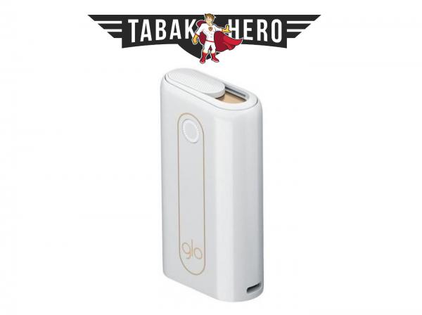 glo hyper Device Kit White Heater Tabak Erhitzer