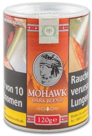 Mohawk Dark Blend (Indian) Tabak 120g Dose (Drehtabak / Feinschnitt)