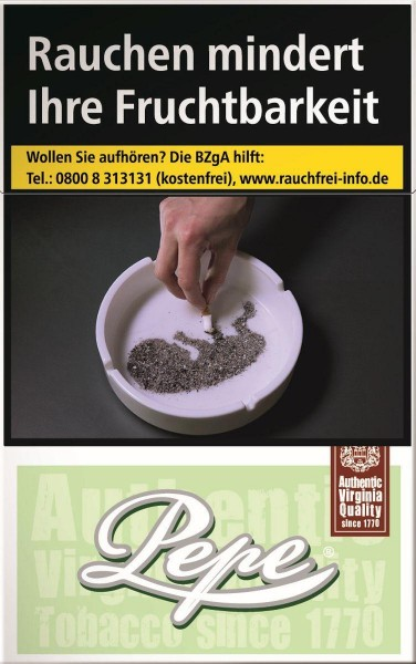 Pepe Bright (Easy) Green Zigaretten (20 Stück)