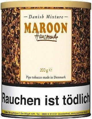Danish Mixture Maroon (Choco-Nougat) Tabak 200g Dose (Pfeifentabak)