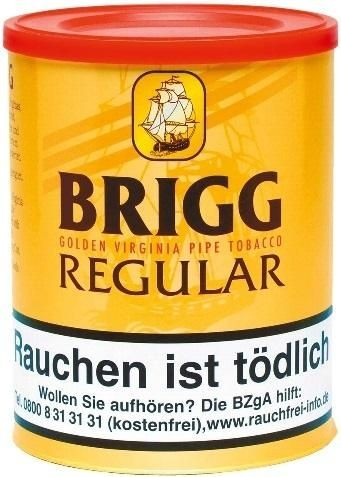 Brigg Regular Tabak 180g Dose (Pfeifentabak)
