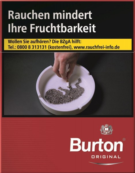 Burton Original XL (Stange / 8x24 Zigaretten)