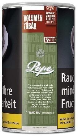 Pepe Rich Green Tabak 85g Dose (Stopftabak / Volumentabak)