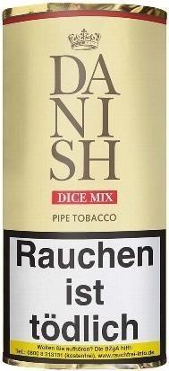 Danish Dice Mix Tabak 50g Pouch (Pfeifentabak)