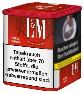 L&M Red Tabak 45g Dose (Stopftabak / Volumentabak)