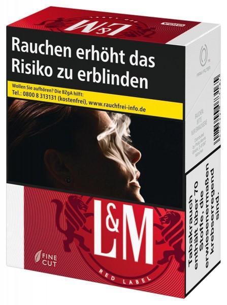 L&M Red (Stange / 8x34 Zigaretten)
