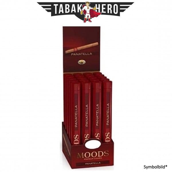 Dannemann Moods Panatella Tubos Display (20 Zigarren)