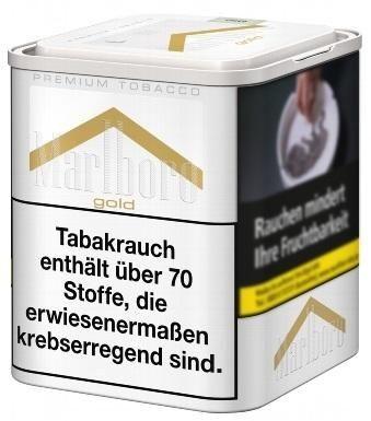 Marlboro Gold L Tabak 90g Dose (Drehtabak / Feinschnitt)