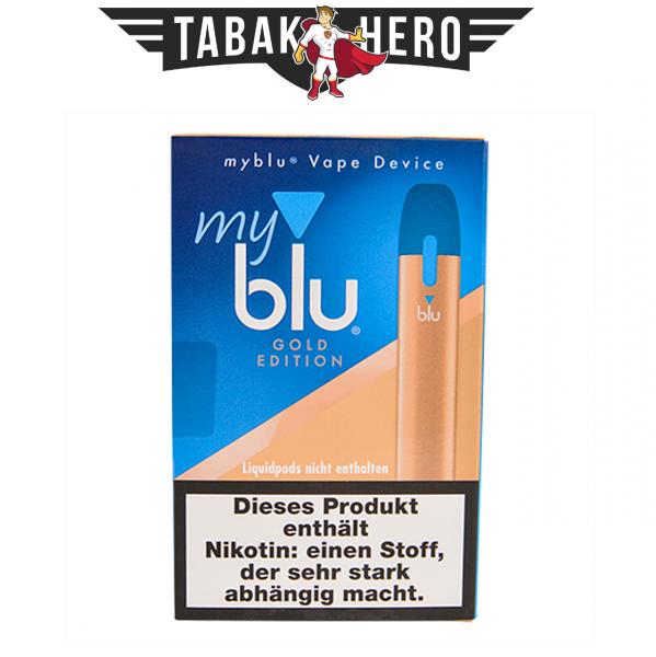 myblu Vape Device Gold E-Zigarette