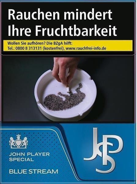 John Player JPS Blue Stream (Stange / 8x26 Zigaretten)