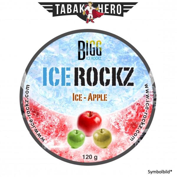 BIGG Ice Rockz Ice-Apple 120g Shisha Dampfsteine, Nikotinfrei