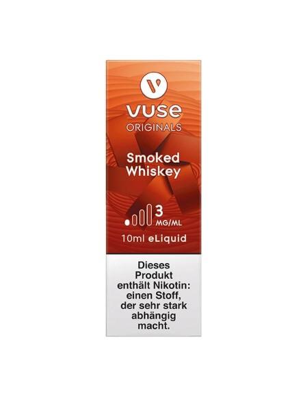 4 x Vuse (Vype) eLiquid Bottle Smoked Whiskey 3mg