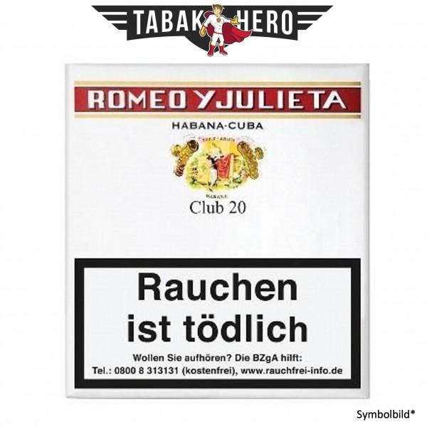 Romeo Y Julieta Club (20 Zigarillos)