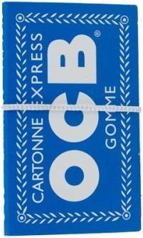 OCB Blau Gummizug Drehpapier/ Blättchen/ Zigarettenpapier 100 Blatt