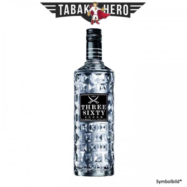Three Sixty Premium Vodka alc.37,5 Vol.-%