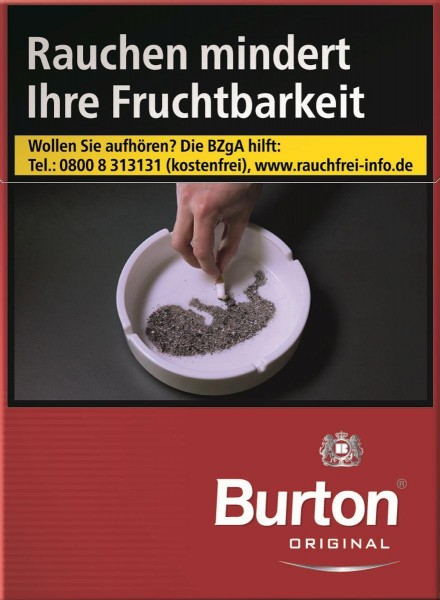 Burton Original XXL (Stange / 8x30 Zigaretten)