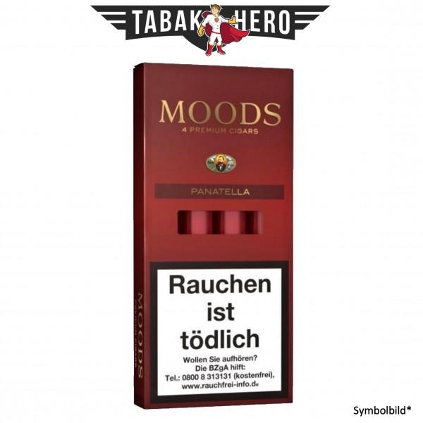 Dannemann Moods Panatella (Tubos) (5x4 Zigarren)