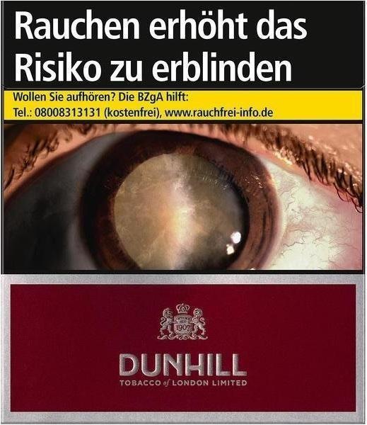 Dunhill International Red Zigaretten (20 Stück)