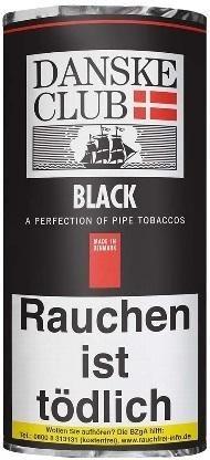 Danske Club Black (Luxury) Tabak 50g Pouch (Pfeifentabak)