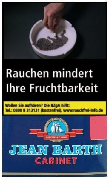 10x Jean Barth Halfzware Tabak 35g Pouch (Drehtabak / Feinschnitt)
