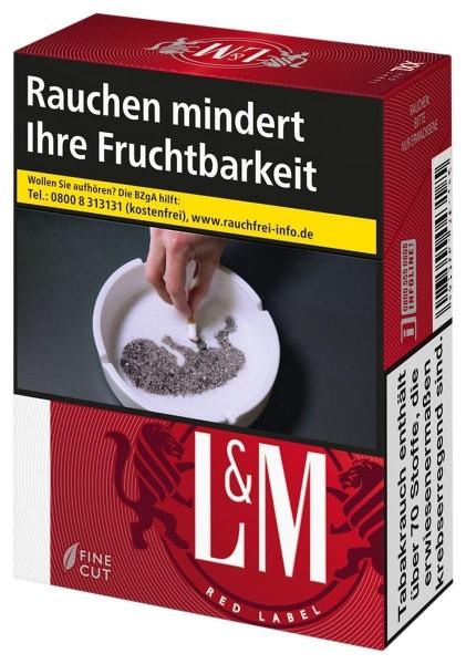 L&M Red Zigaretten (26 Stück)