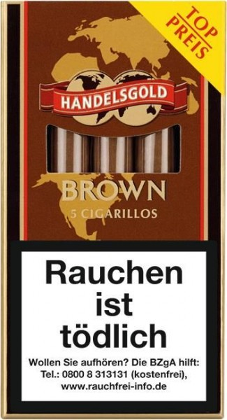 Handelsgold 204 Brown (Coffee) (10 x 5 Zigarillos)