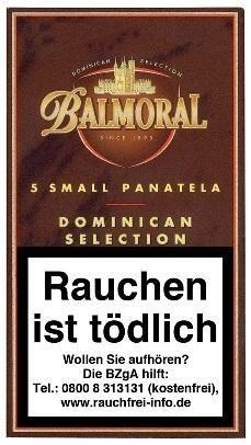 Balmoral Dominican Selection Small Panatela (5 Zigarren)