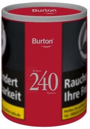 2x Burton Full Flavour XXL Tabak 95g Dose (Stopftabak / Volumentabak)