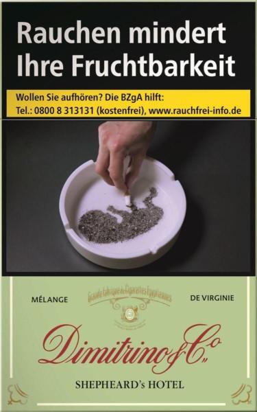 Dimitrino Shepheards Hotel Zigaretten (20 Stück)