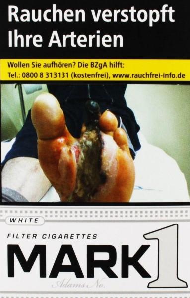 Mark One White Zigaretten (20 Stück)