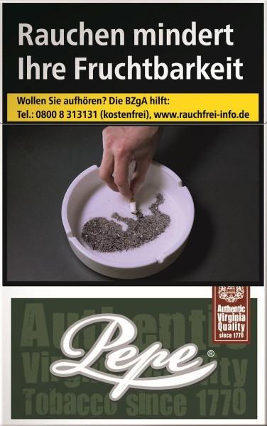 Pepe Dark Green (Stange / 10x20 Zigaretten)