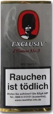 5x Exclusiv Mixture No.3 (First Class) Tabak 50g Pouch (Pfeifentabak)