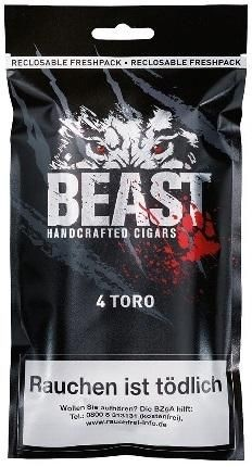 Beast Toro (4 Zigarillos)