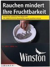Winston Black (Stange / 5x36 Zigaretten)
