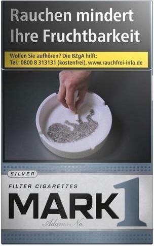 Mark One Silver (Stange / 10x20 Zigaretten)