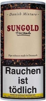 Danish Mixture Sungold Hausmarke (Vanille) Tabak 50g Pouch (Pfeifentabak)