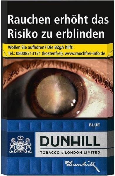Dunhill Blue Zigaretten (20 Stück)