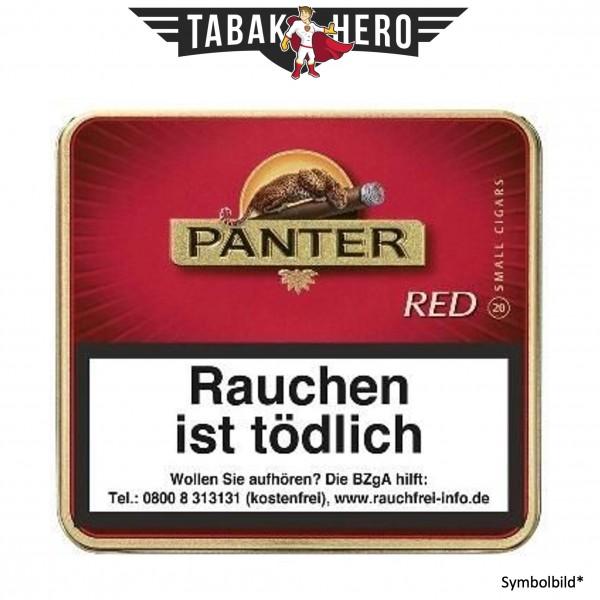 Panter Red (Vanilla) o. Filter (10x20 Zigarillos)