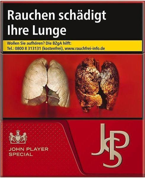 John Player JPS Red Zigaretten (38 StŸück)